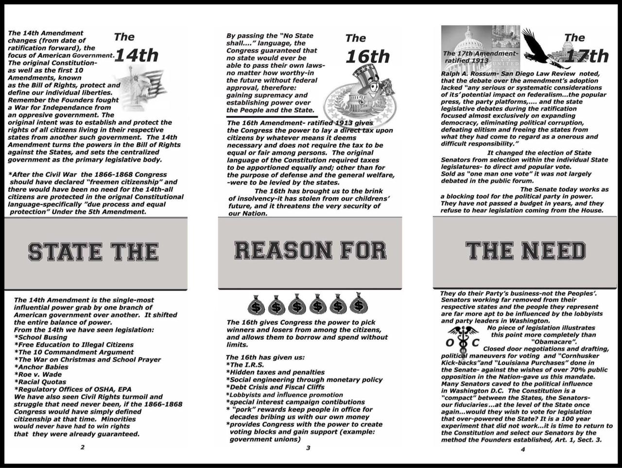 blk white trifold brochure